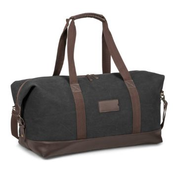 Canvas Weekend Bag - Charcoal